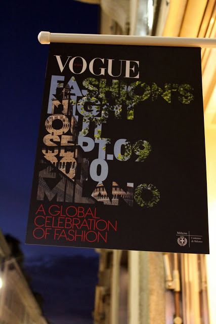 Vogue Fashion's Night Out Milano: la serata