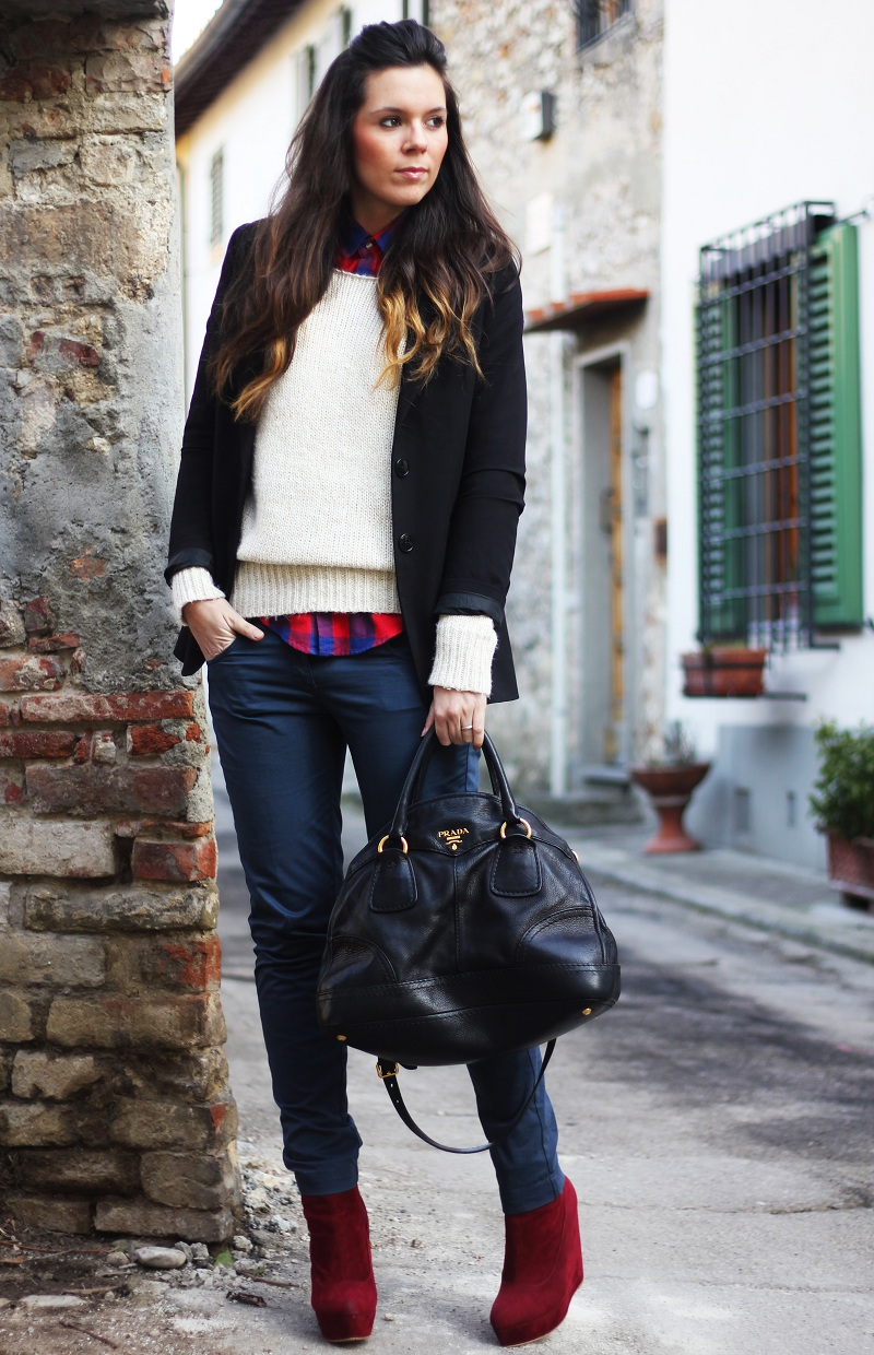 Outfit del giorno / Outfit of the day: Prada & blazer ...