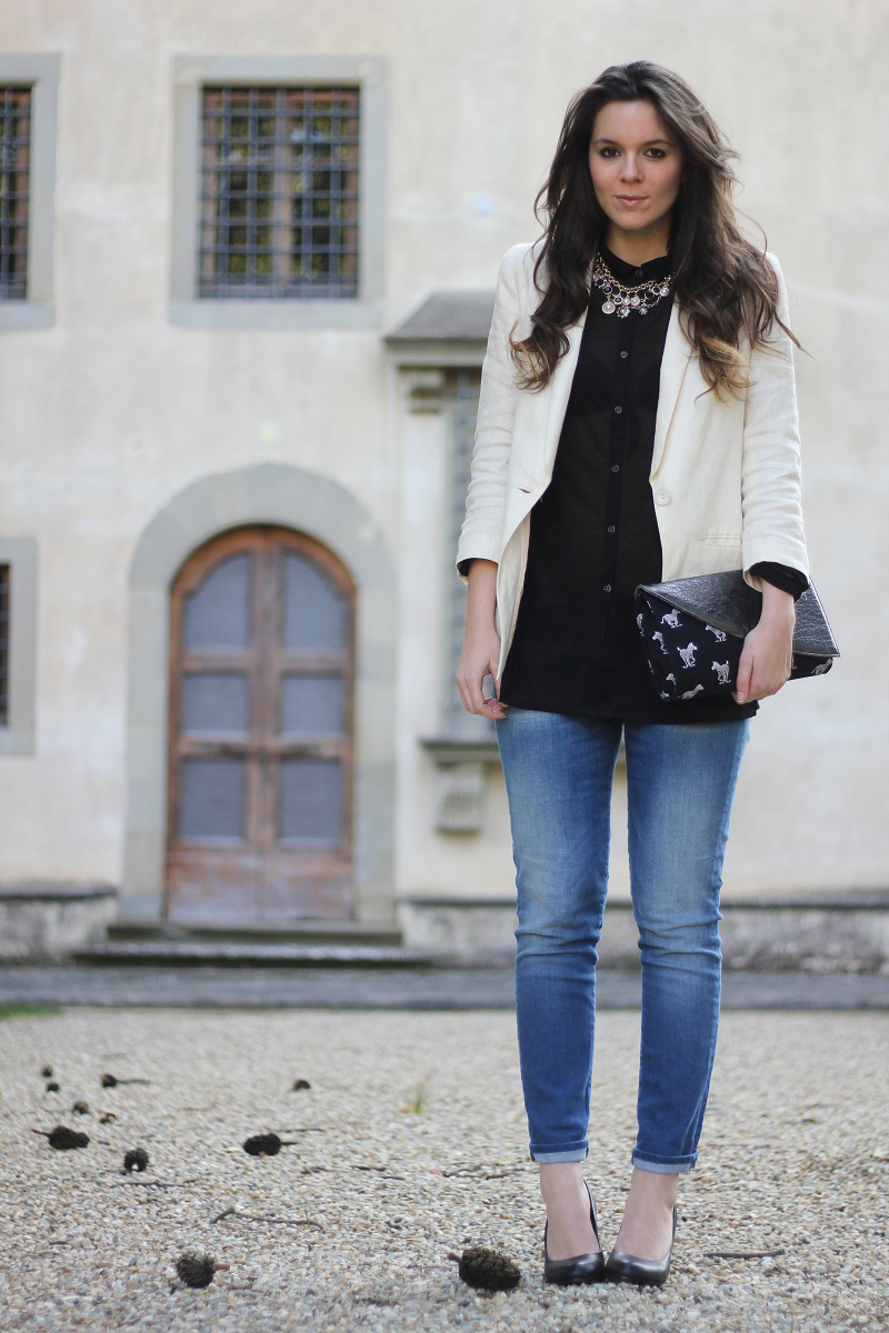 4 modi per indossare un blazer bianco / the white blazer | Ireneu0026#39;s Closet - Fashion blogger ...