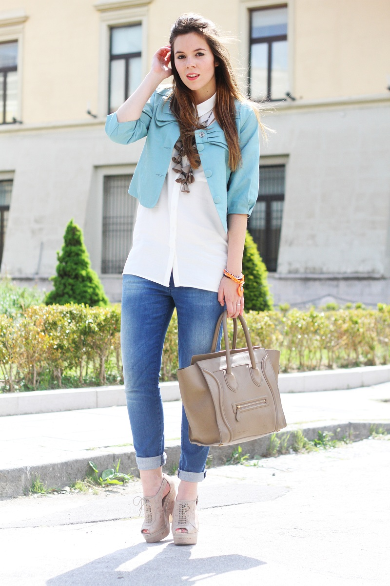 Outfit Del Giorno / Outfit Of The Day: Celine Boston Bag