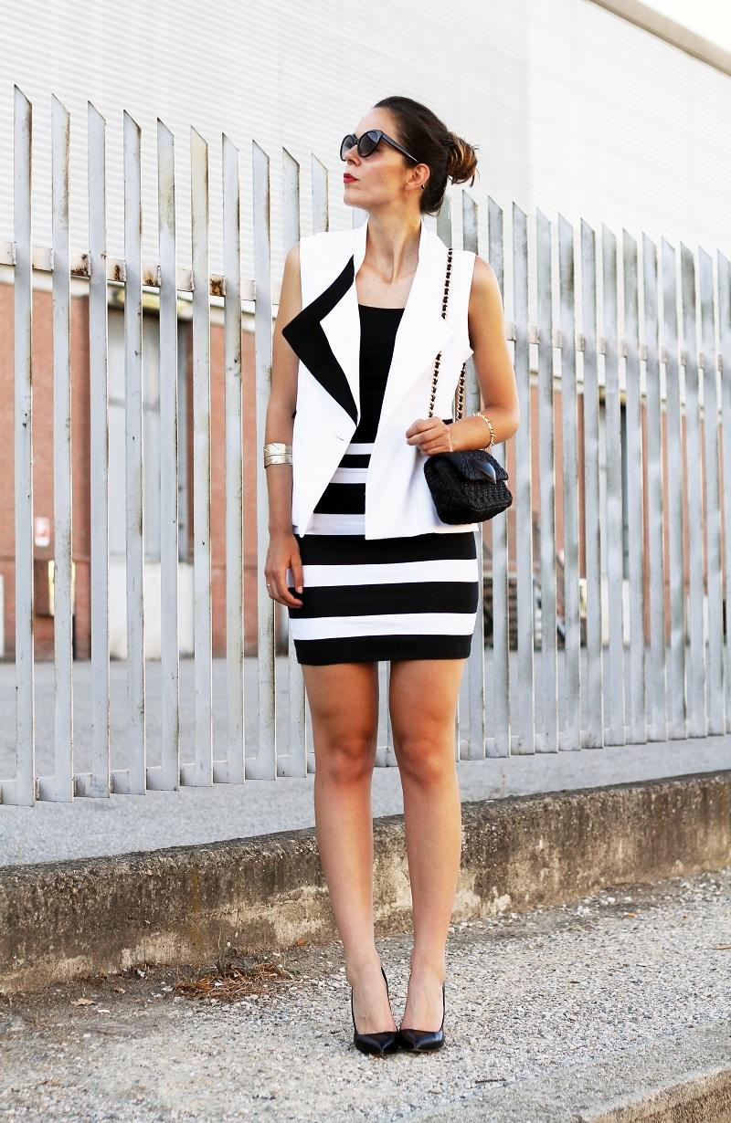 Un Outfit Bianco E Nero Irene S Closet Fashion Blogger