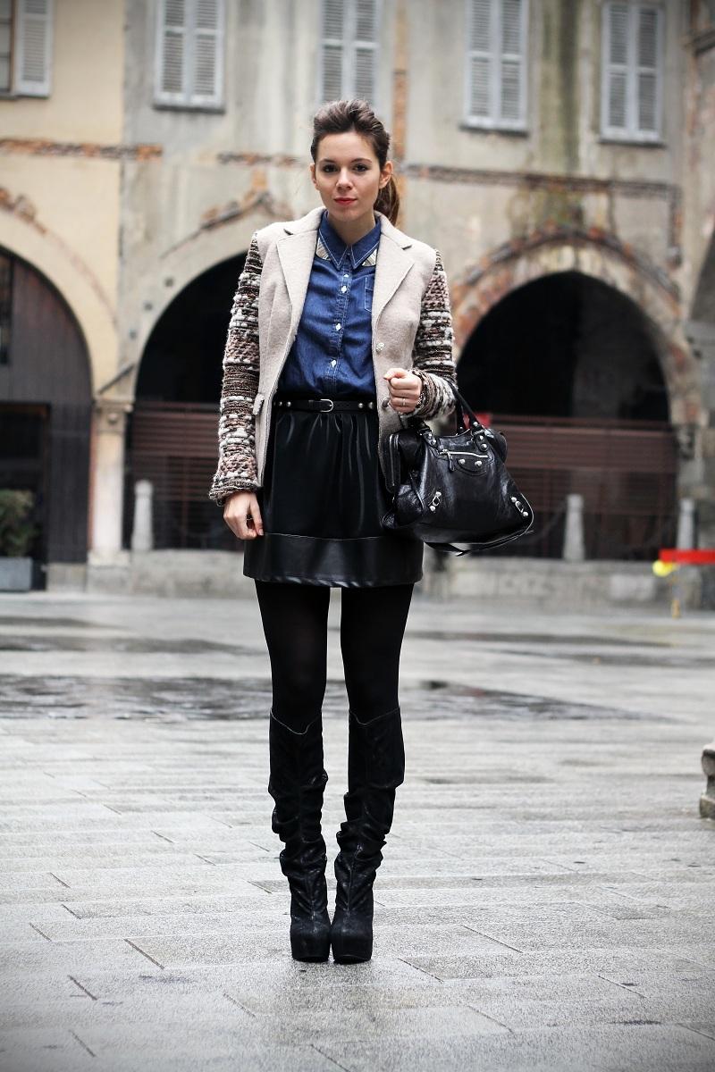 Come Abbinare La Camicia Di Jeans? 6 Outfits 1 Sola Camicia | Ireneu0026#39;s Closet - Fashion Blogger ...