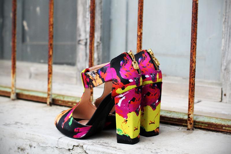 sandali | sandali colorati | scarpe con tacco | tacco grosso | scarpe aperte | sarenza 1