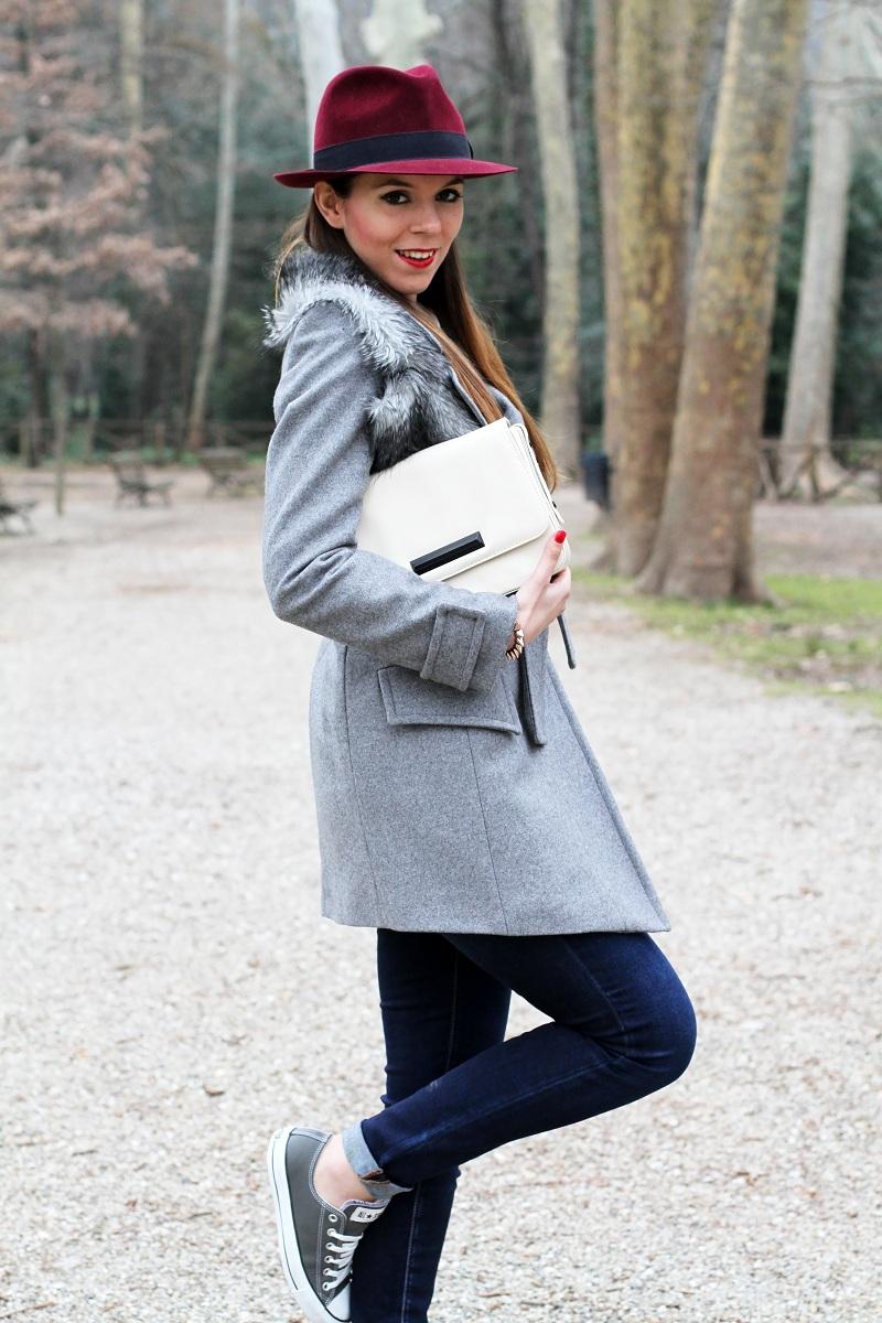 Converse Blu Alte Outfit