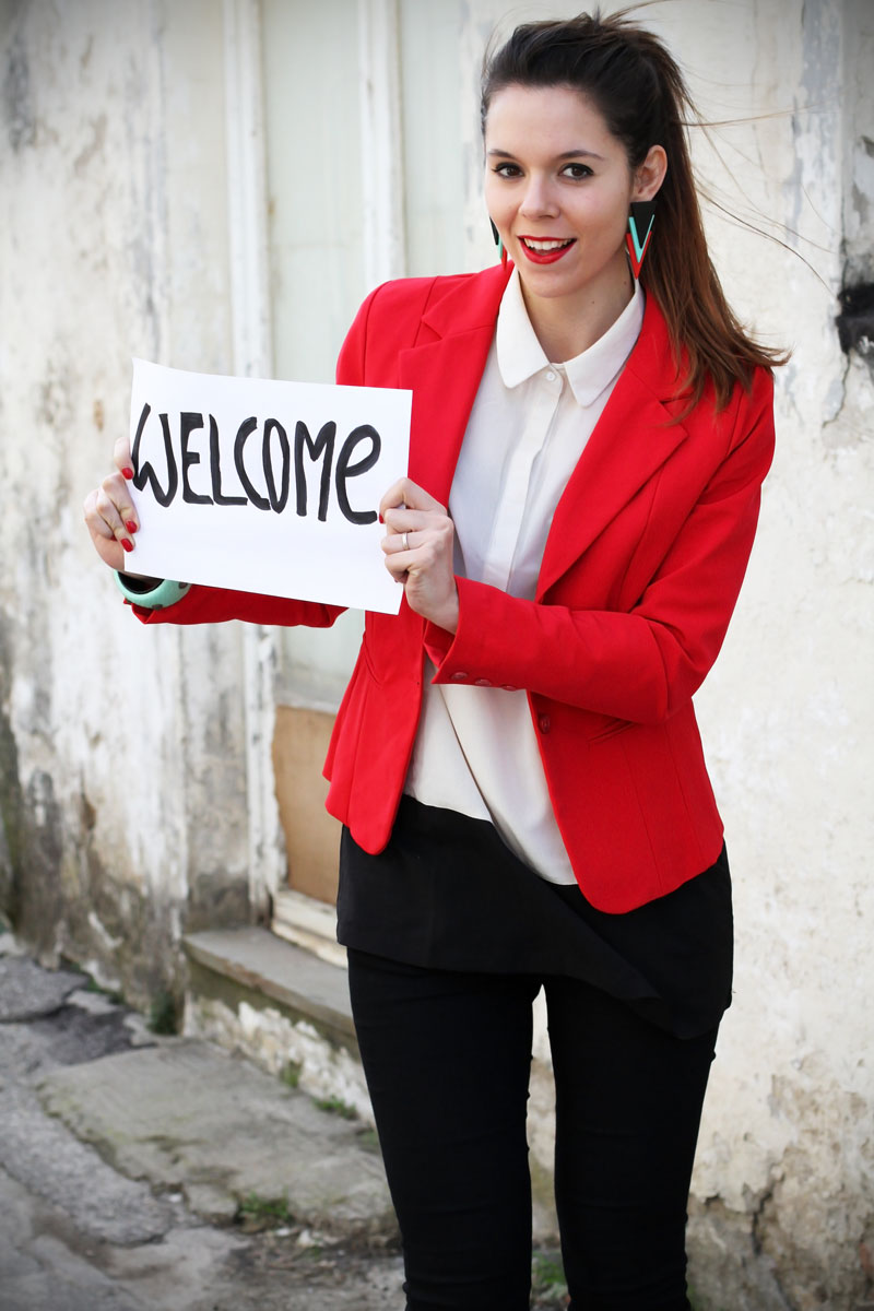 Irene Colzi benvenuto nel nuovo fashion blog italiano con nuova grafica Irene's Closet