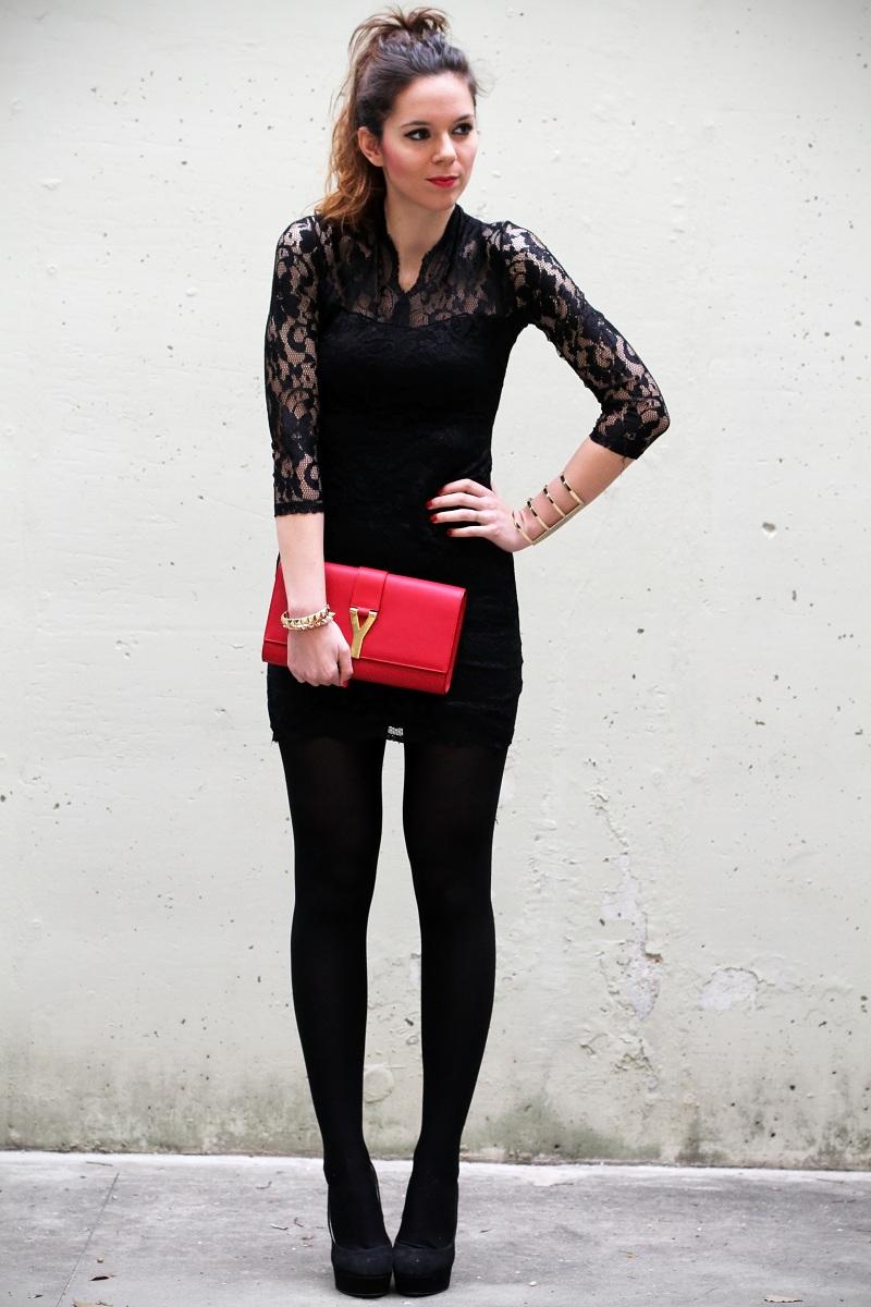 Vestito Pizzo Nero Abbinamento ~ Vestito pizzo nero che scarpe su abiti da  sposa italia 8def97054dd
