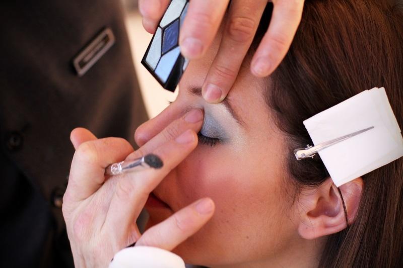 trucco dior | dior estate 2013 | make up | Dior | bird  of paradise dior | uccello del paradiso dior | trucco celeste | trucco blu | idee trucco | rinascente | milano 1