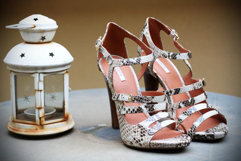 geox | scarpe tacco | decollete | pitonato | scarpe pitonate | sandali | sandali pitonati | tacco alto