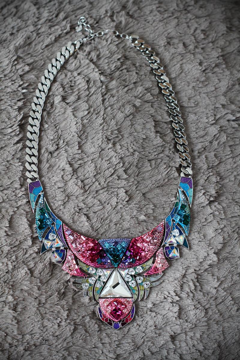 gioielli | swarovski primavera estate  2013 | swarovski estate 2013 | swarovski | collana swarovski | collana bellissima | collana multicolor