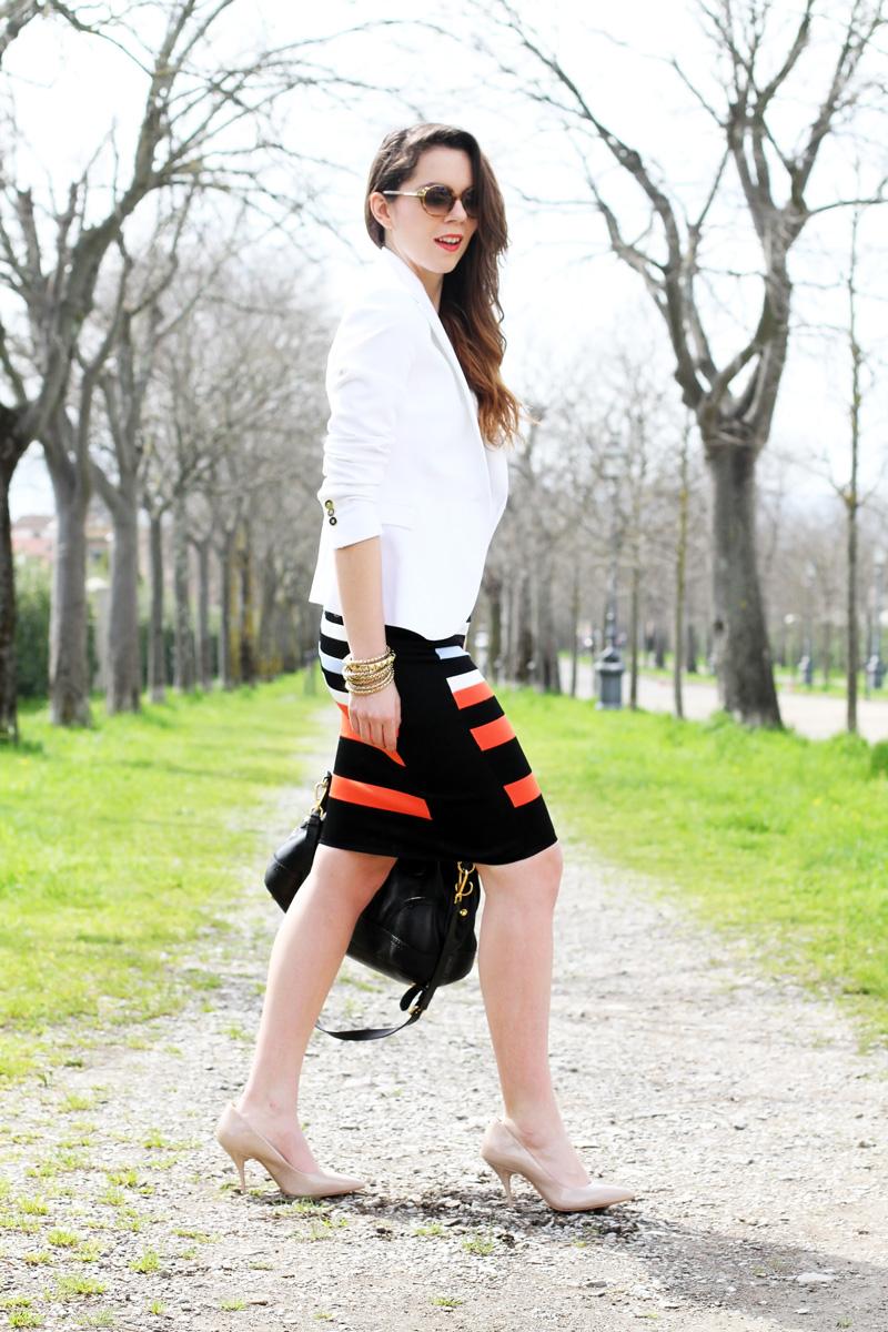 gonna longuette outfit look idea idee matrimonio battesimo cresima comunione fashion blogger irene colzi milano roma firenze italia (7)
