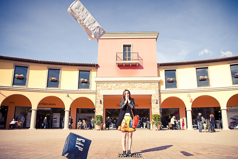 valdichiana outlet village fashion blogger report attività collaborazione marketing irene colzi (2)