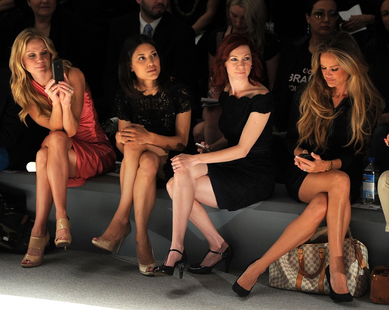 gambe perfette   front row