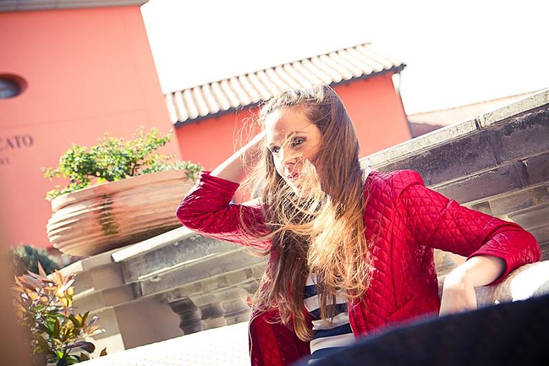 controluce | giacca rossa| pantaloni capri | tacchi rossi | fashion report | irene colzi | irene closet | fashion blogger italia
