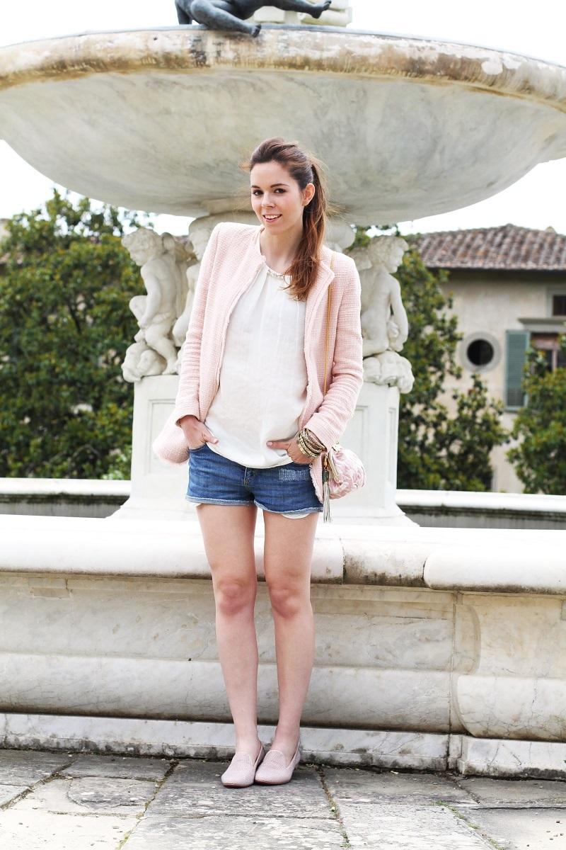 villa medicea | villa castello | irene colzi | irene closet | fashion blog | fontana rinascimentale | rosa pastello | rosa baby | slippers uno8uno | slippers | spolverino rosa | cappotto rosa | swarovski | fix design | borsa fixdesign 7