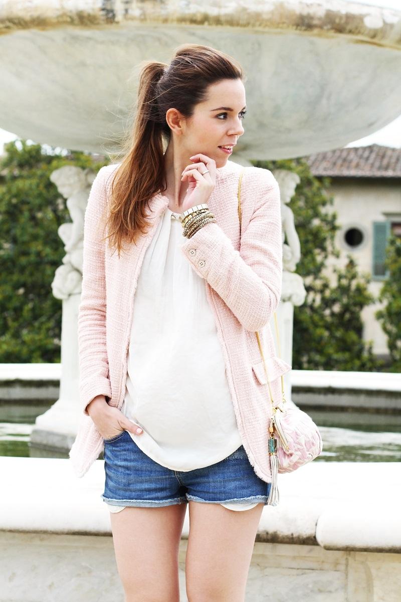 villa medicea | villa castello | irene colzi | irene closet | fashion blog | rosa pastello | rosa baby | spolverino rosa | cappotto rosa | swarovski | fix design | borsa fixdesign