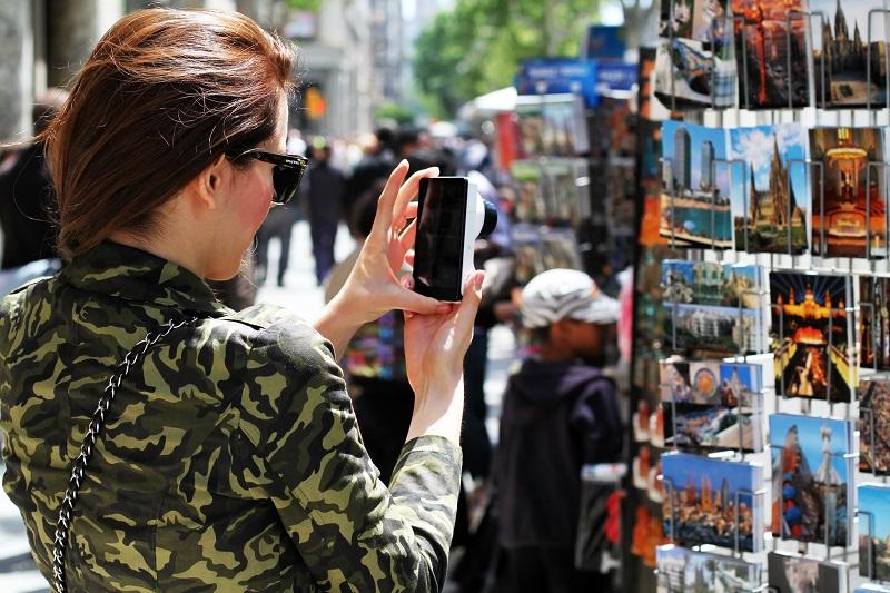 turista | cartoline | galaxy camera samsung | barcellona | spagna | (4)