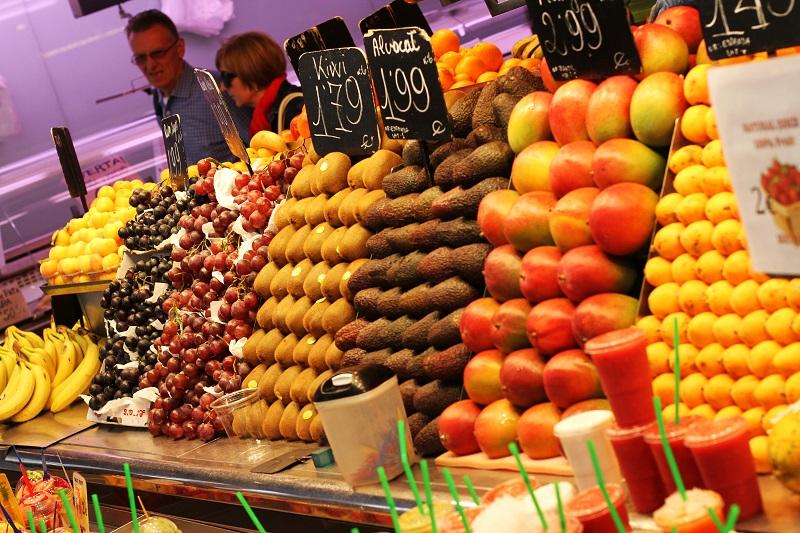 frutta | mercato | boqueria | mercado san josep | barcellona | spagna | (9)