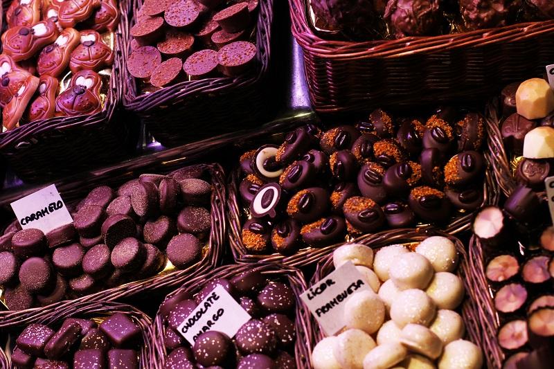 cioccolata | cioccolatini | boqueria | mercado san josep | barcellona | spagna | (8)