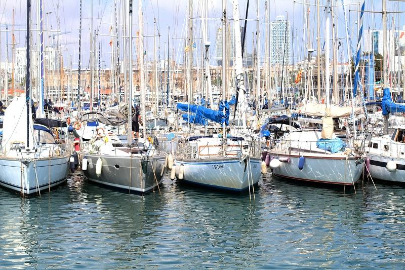 porto | barche a vela | barcellona | spagna | (17)