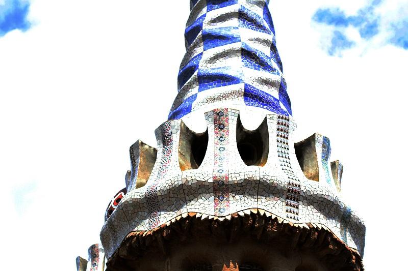 parc guell | dettagli parc guell | mosaici | gaudi | barcellona | patrimonio unesco | spagna | vacanze barcellona | cosa vedere a barcellona