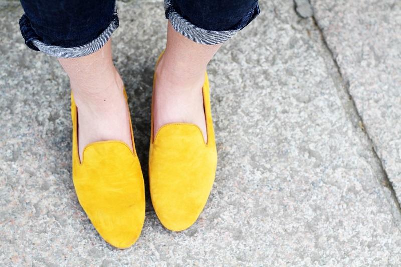 pantofole   slippers   uno8uno   181   giallo senape