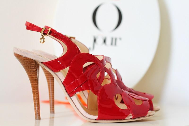 Giorgia Caovilla | o jour | rene caovilla | scarpe lusso | decollete lusso | decollete raso | tacchi raso | decollete rosse | scarpe rosse