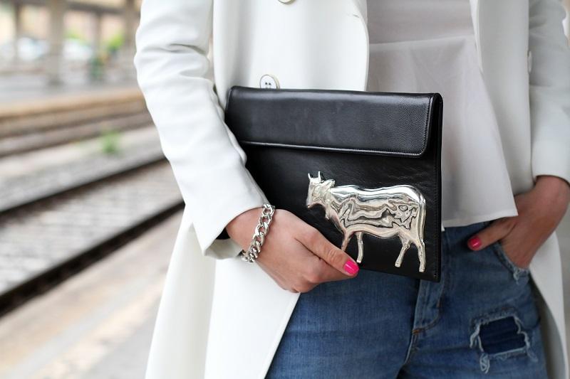 pochette | pochette mucca | pochette vincent |smalto fucsia | smalto dior | bracciale catena | smalto rosa