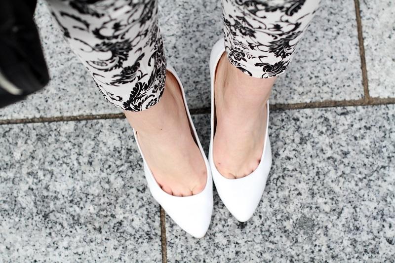 scarpe bianche | decollete bianche | dettagli fashion