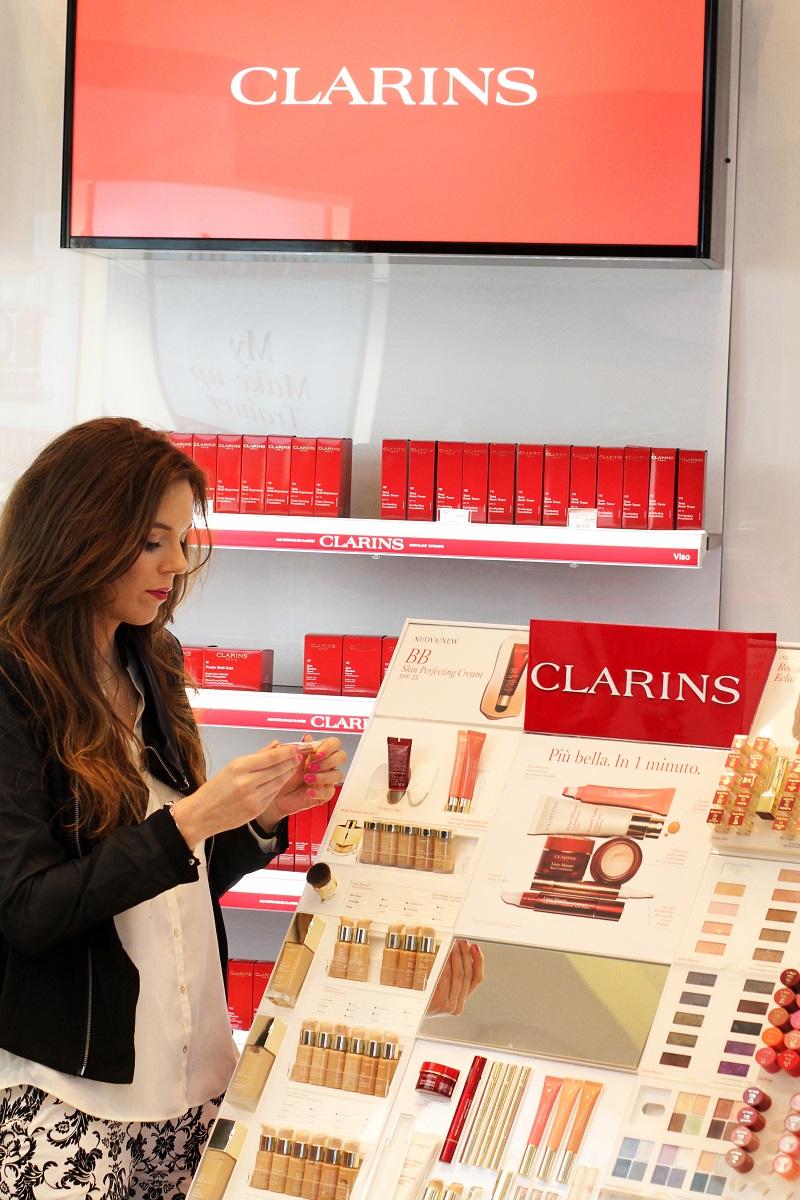 clarins | evento clarins milano sephora | sephora evento | clarins evento | evento blogger | evento blogger milano (1)