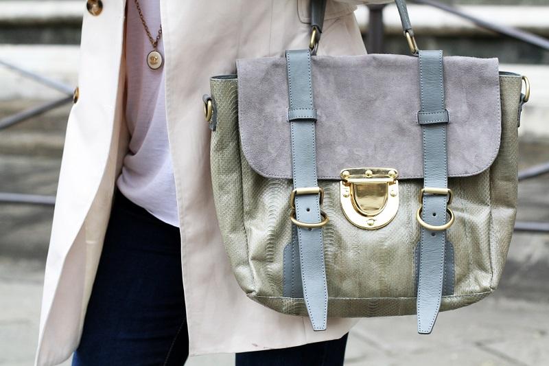 su-shi bag | borsa su.shi | su-shi | borsa grigia | borsa su-shi grigia | borsa capiente | borsa tipo proenza shouler | borsa fashion | fashion details | dettagli moda