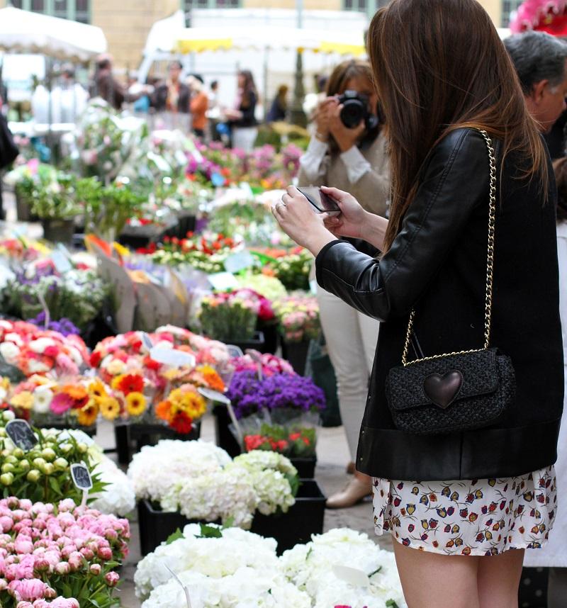 mercato dei fiori | mercato dei fiori aix en provence | aix en provence | provenza