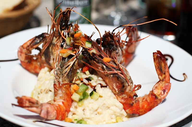 gamberoni | riso gamberoni | food | foodporn | cibo fashion | riso | riso frutti di mare