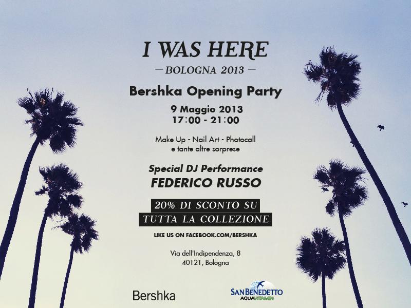 Venite a trovarmi al party di bershka a bologna trucco e for Bershka via indipendenza bologna