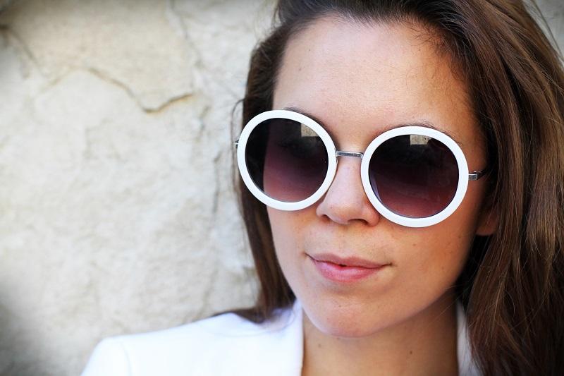 cchiali da sole rotondi | occhiali da sole |moda | fashion | fashion blogger | streetstyle | outfit | look