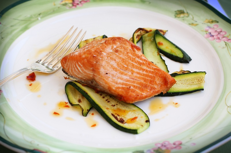 salmone griglia | salmone | zucchine | pesce