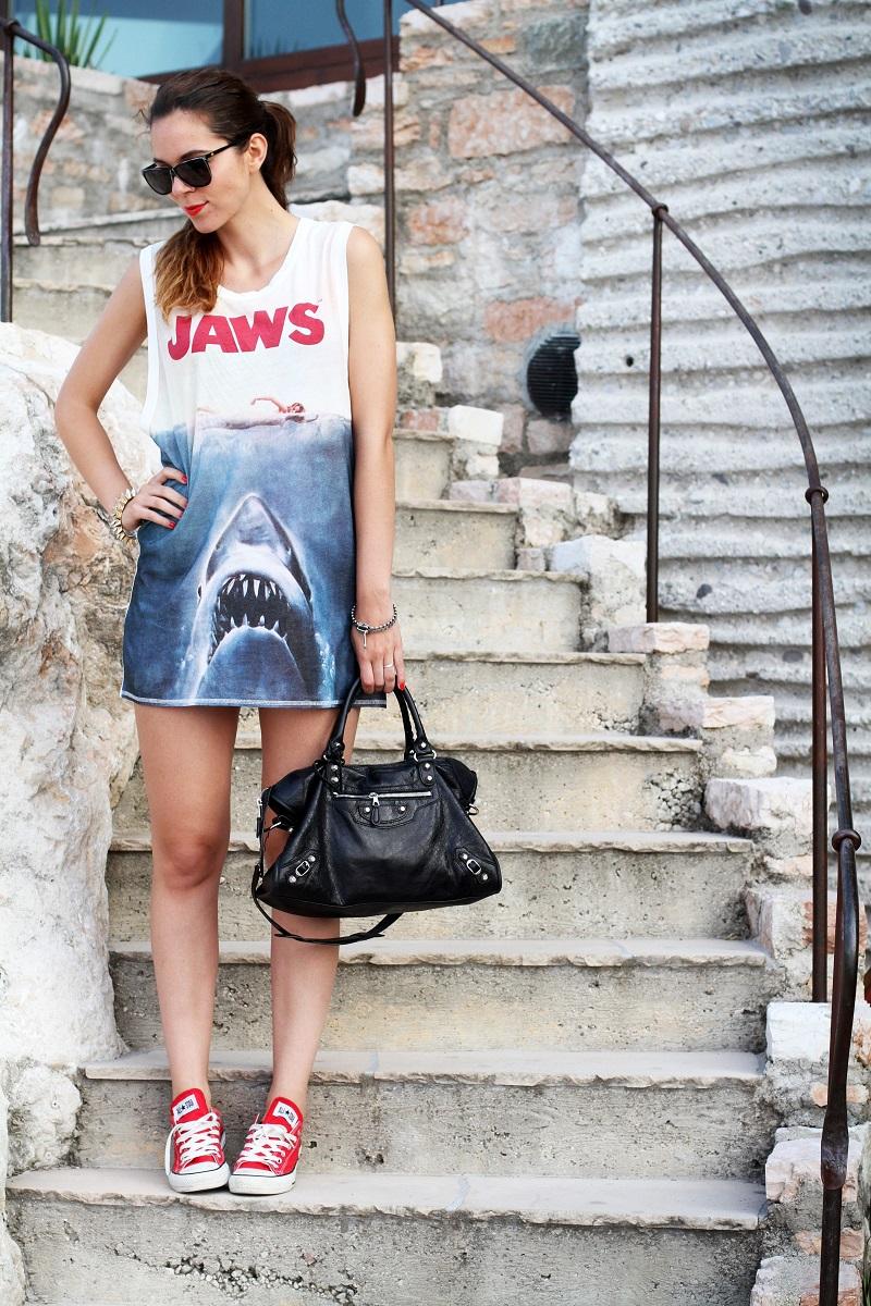 Lago di garda | le fay | resort | balenciaga | converse | lo squalo | hm | look | outfit | irene colzi | streetstyle3