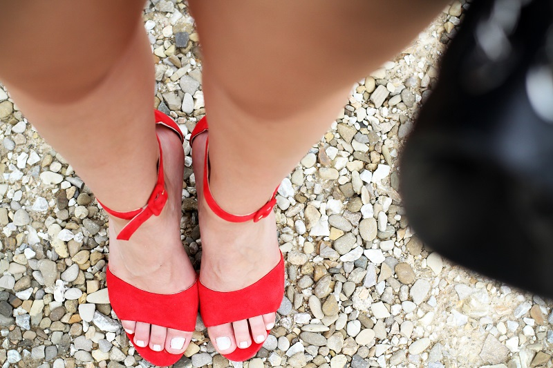 sandali rossi | scarpe rosse