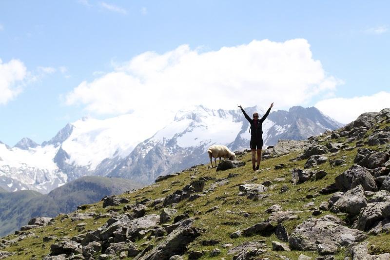 immagini paesaggi | foto paesaggi | montagna estate | solden | tirolo | austria | valle verde | valle otzal