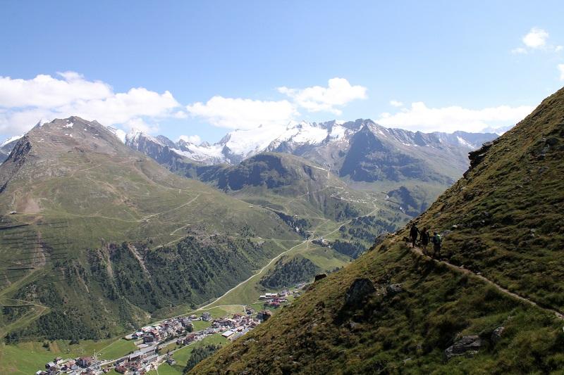 immagini paesaggi | foto paesaggi | montagna estate | solden | tirolo | austria | valle verde | valle otzal 9