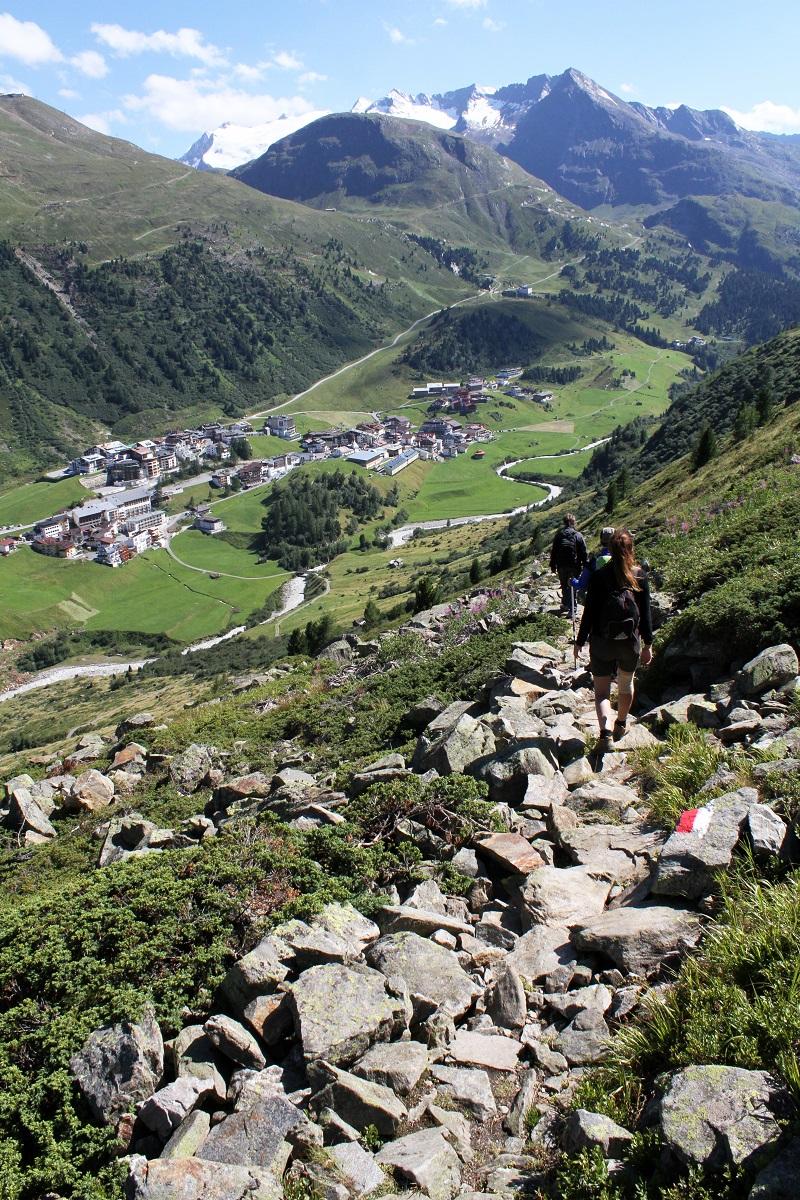 immagini paesaggi | foto paesaggi | montagna estate | solden | tirolo | austria | valle verde | valle otzal 11