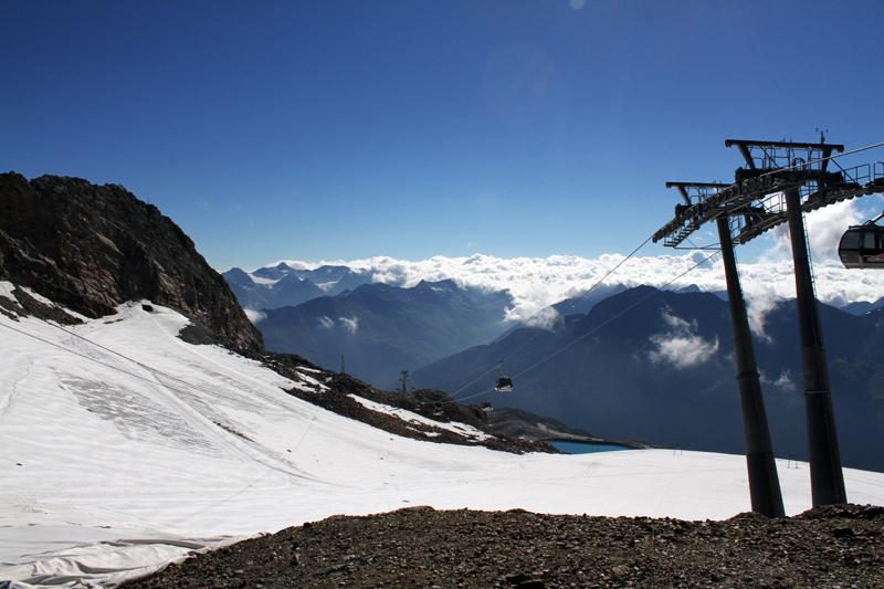 ghiacciaio | ghiacchiaio perenne | austria |  tirolo | solden |  valle otzal | montagna estate6