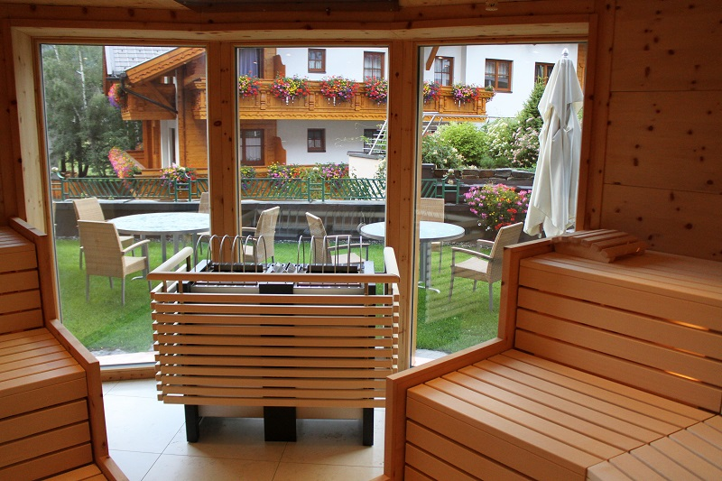 sauna | wellness austria | resort  | hotel 5 stelle austria | hotel tirolo | das central