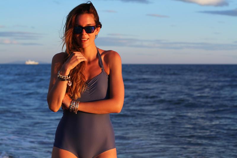 Costume da bagno | costume intero | fashion blogger  bikini | bikini irene colzi | occhiali da sole lenti specchio 4