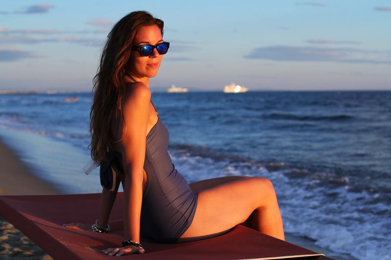 Costume da bagno | costume intero | fashion blogger  bikini | bikini irene colzi | occhiali da sole lenti specchio 8