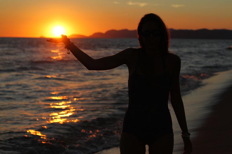 tramonto silhuette nera 1