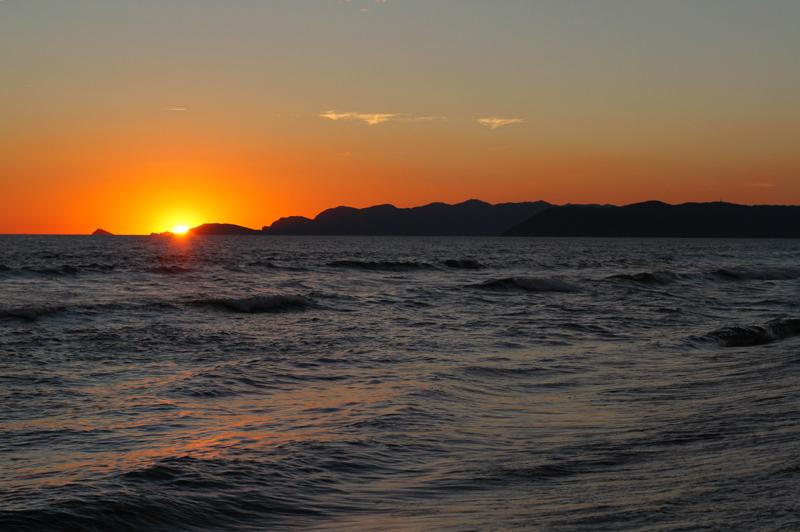tramonto sul mare | Tramonto | forte dei marmi | versilia | tramonto romantico | tramonto spiaggia 3