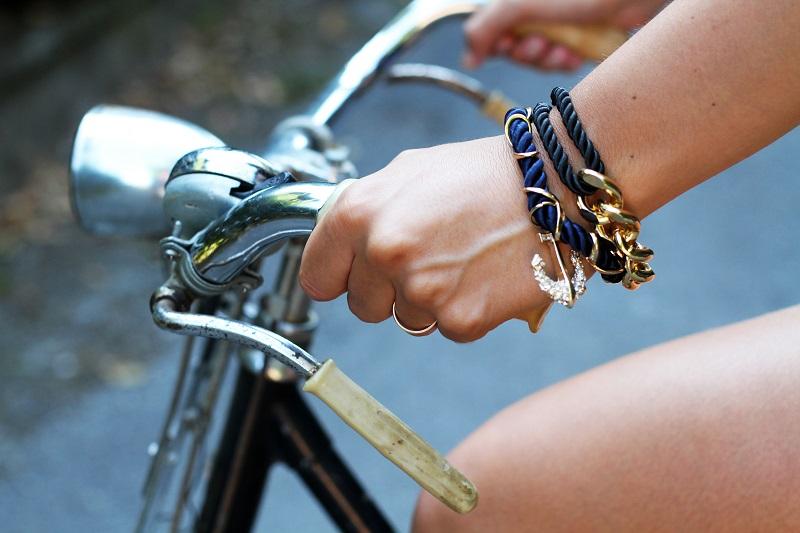 graziella bicicletta | bracciali ancora