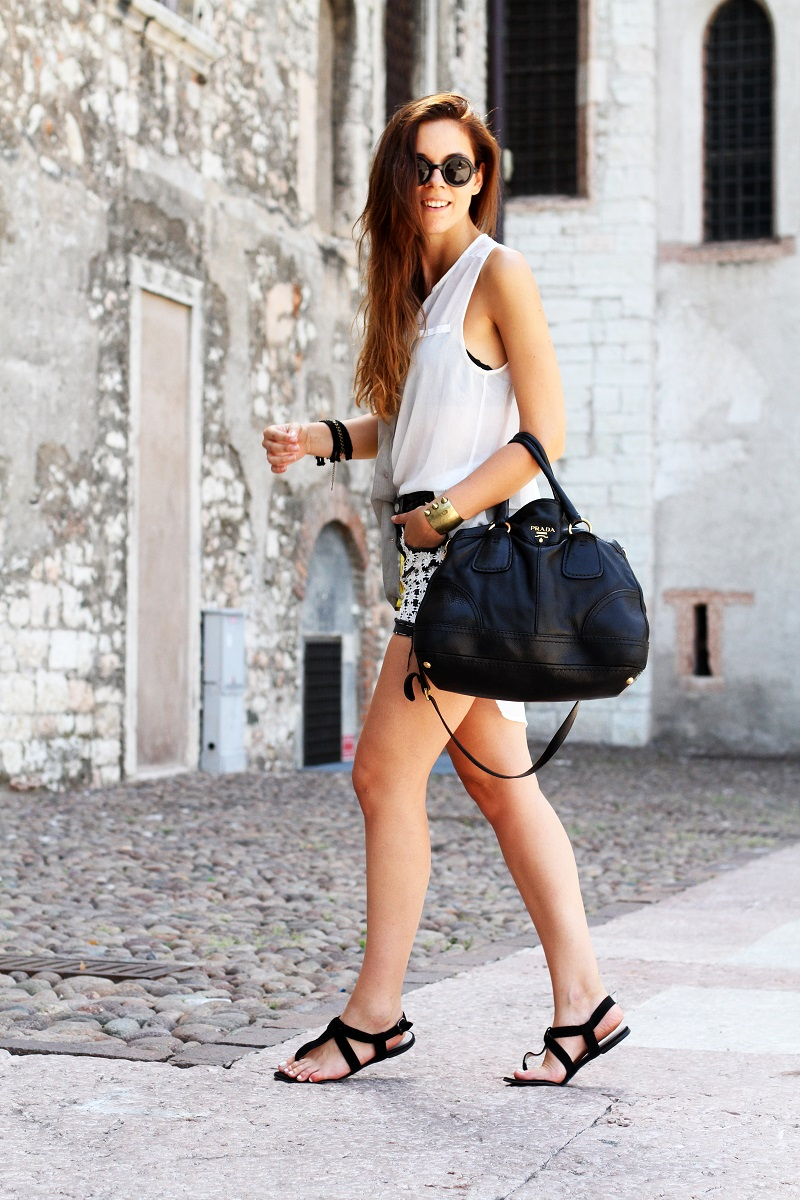prada messenger bag black nylon - Trento: 48 ore attraverso le fotografie tra outfits e cagnolini