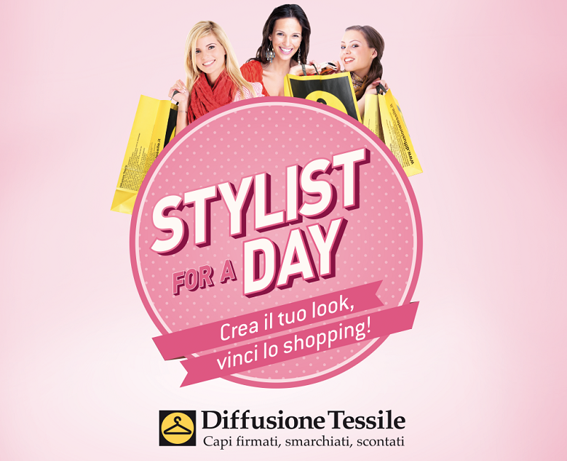 diffusione tessile | logo diffusione tessile | logo stylist for a day diffusione tessile