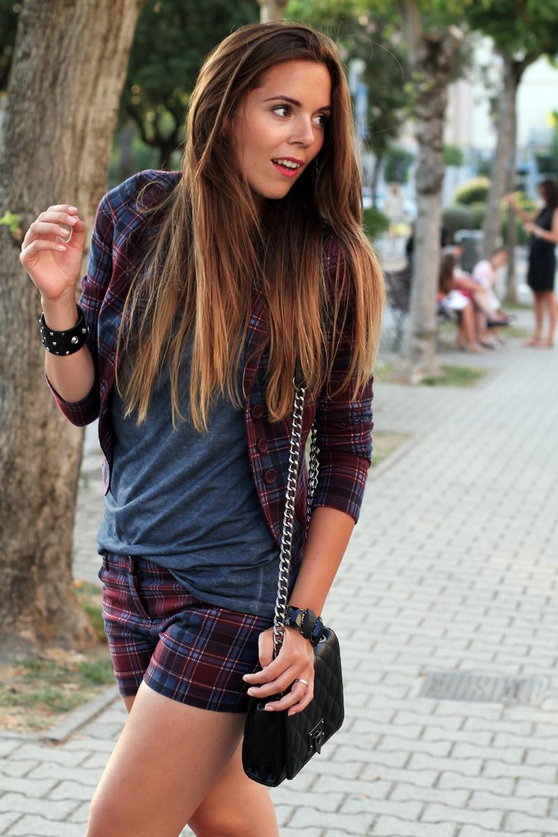moda autunno inverno 2013 | giacca tartain | pantaloni tartain | giacca scozzese 1